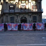 Esibizione a Pamplona