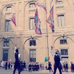 mdb sbandieratori spettacolo rievocazione italia flagthrowers flagwavers flagbearer flag italyhellip