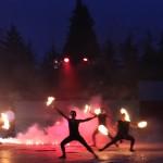 Coreografia spettacolo di fuoco