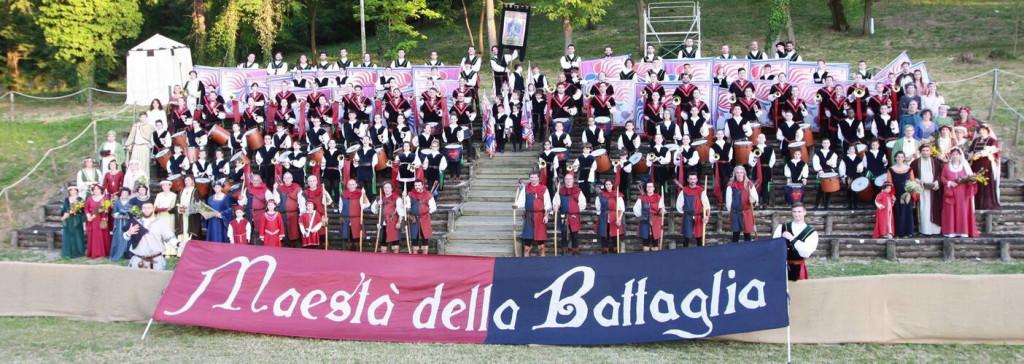 Gruppo Storico Sbandieratori Maestà della Battaglia - Quattro Castella