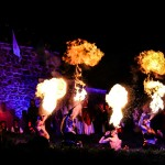 Medieval fire Show