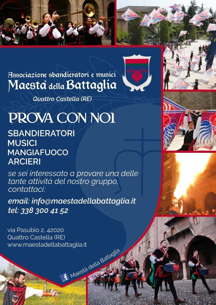 Prova con noi - Maestà della Battaglia - Reggio Emilia