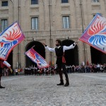 flag-throwing-show
