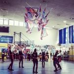 Torneo Bandiere del Cuore Borgo San Giovanni maestadellabattaglia sbandieratori spettacolohellip