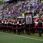 Uefa Womens Champions League maestadellabattaglia sbandieratori spettacolo rievocazione italia flagthrowershellip