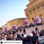 Inaugurazione Duomo di Carpi grazie a alessiococilovophoto mdb sbandieratori spettacolohellip
