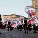 Inaugurazione Duomo di Carpi mdb sbandieratori spettacolo rievocazione italia flagthrowershellip