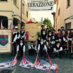 Sagra dal scarpasoun 2017  Montecavolo RE sbandieratori reggianiDOC maestadellabattagliahellip