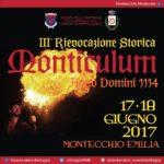 gtgt MONTICULUM ltlt Montecchio Emilia RE 1718 GIUGNO 2017 festamedievalehellip